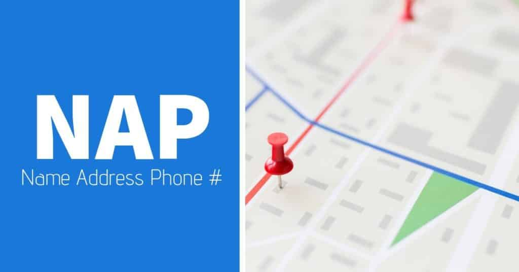 LOCAL SEO - NAP stands for Name, Address and Phone Number